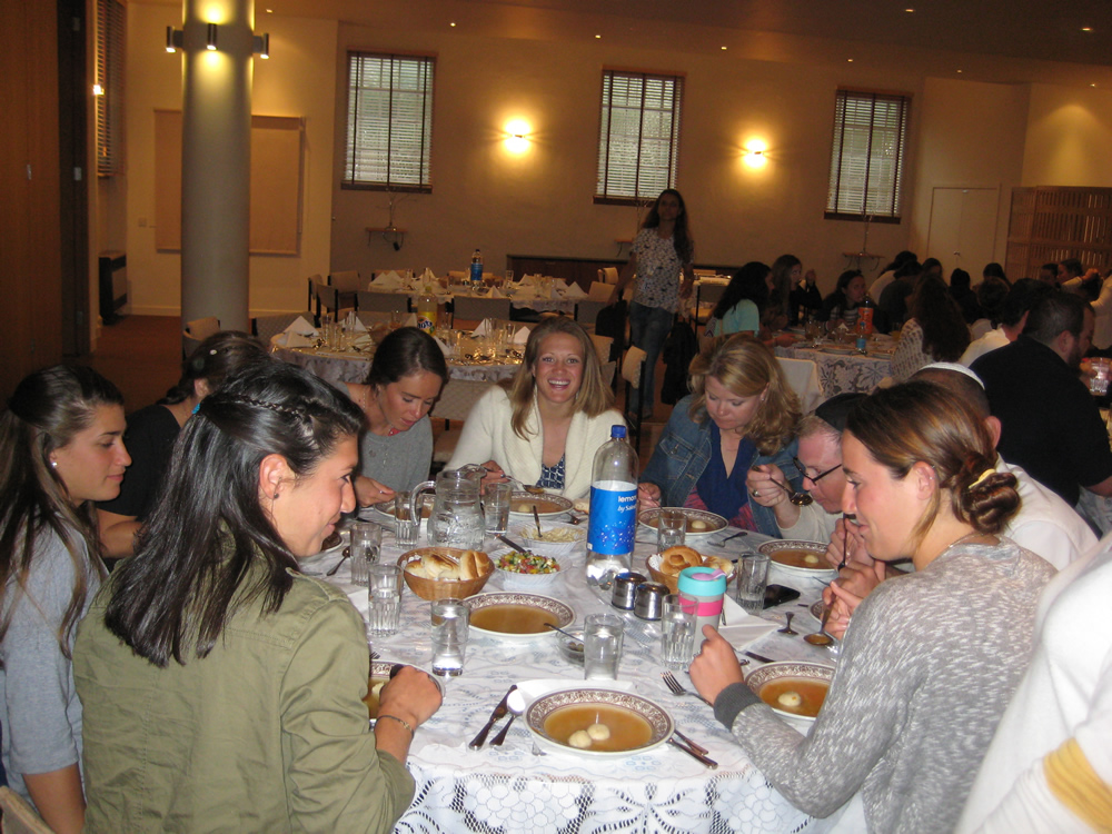 The guests enjoy their dinner at 4a Salisbury Road image 1