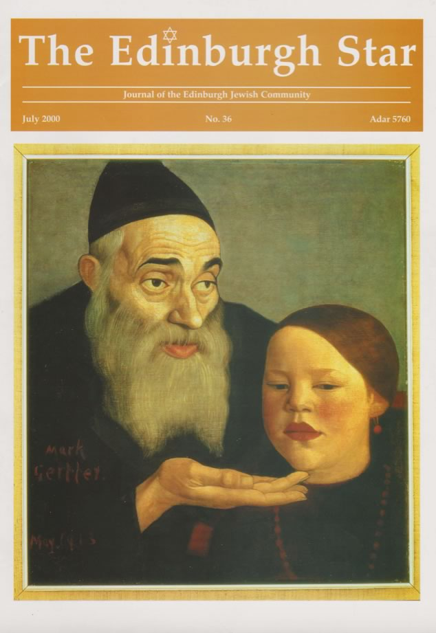 Issue No 36. July 2000, Adar 5760