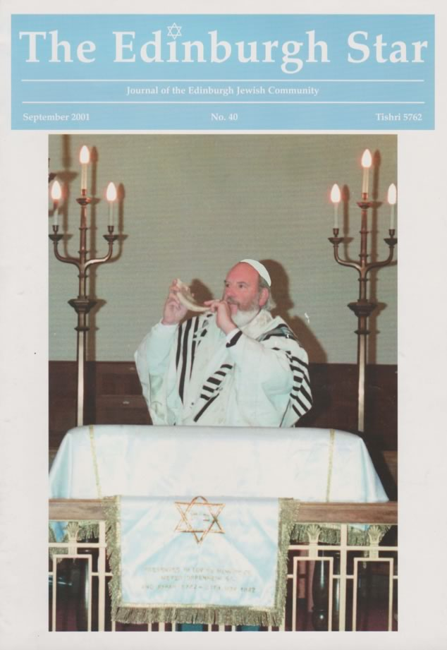 Issue No 40. September 2001, Tishri 5762