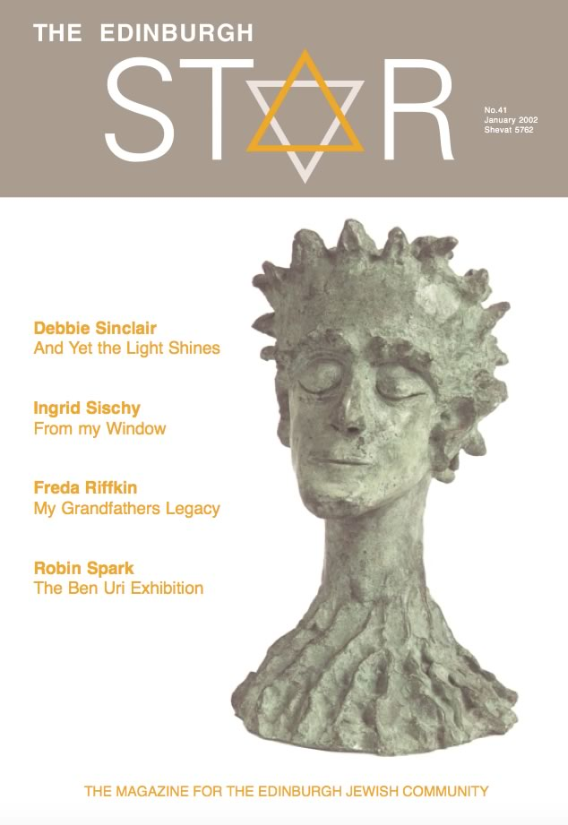 Issue No 41. January 2002, Shevat 5762