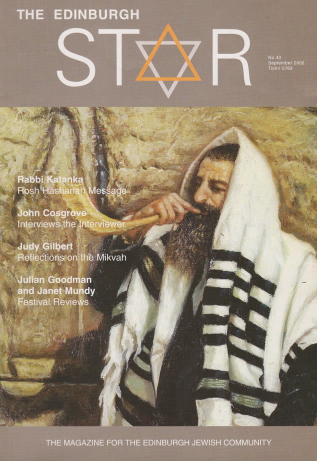 Issue No 43. September 2002, Tishri 5763